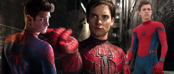 'Spider-Man: Into the Spider-Verse' Could've Had a Scene With Tobey Maguire, Andrew Garfield, and Tom Holland