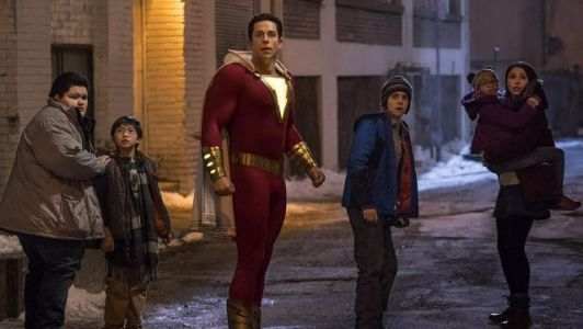 Shazam Tries to Save His Foster Family in New TV Spot