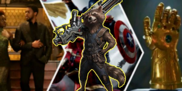 Easter Egg-Filled Fan Art Imagines Rocket Raccoon Disney Streaming Series