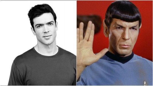 Ethan Peck is Spock in Star Trek: Discovery Season 2