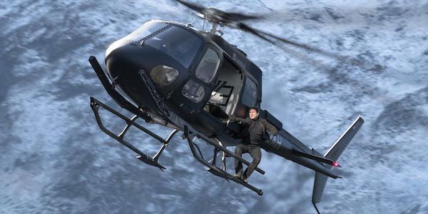 People Thought Tom Cruise Broke His Back Filming Mission: Impossible Fallout's Helicopter Scene