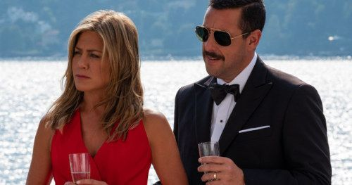 First Look at Adam Sandler & Jennifer Aniston in