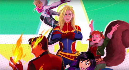 Animated 'Marvel Rising: Secret Warriors' Introduces a Completely Diverse Superhero Team