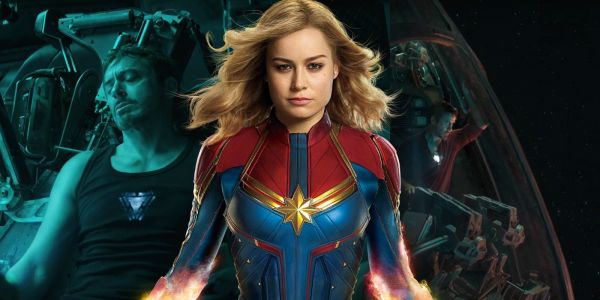 Avengers 4 Theory: Captain Marvel Saves Tony Stark In Space
