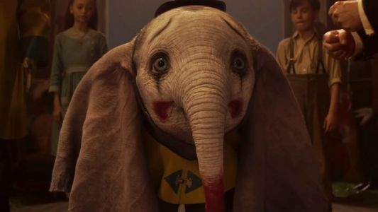 Here's The First Trailer For Tim Burton's Live-Action DUMBO