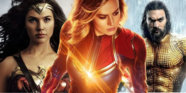 Captain Marvel Outpacing Aquaman & Wonder Woman In Fandango Ticket Presales