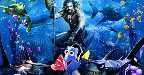 Aquaman Poster Blasted on Social Media for Lazy Photoshop
