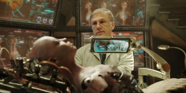 'Alita: Battle Angel' Star Christoph Waltz on Working with Robert Rodriguez and Cinematographer Bill Pope