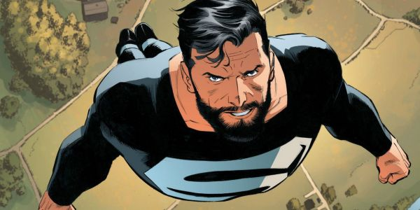 Arrowverse Elseworlds Crossover Set Photo Confirms Superman's Black Suit