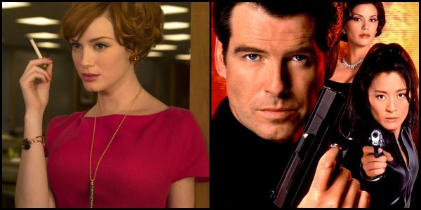 Christina Hendricks Was A Bond Girl Before She Was Famous