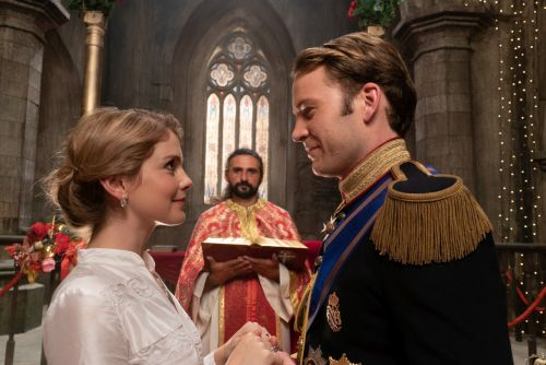 The Trailer For 'A Christmas Prince: The Royal Wedding' Shows Rose McIver Basically Playing Meghan Markle