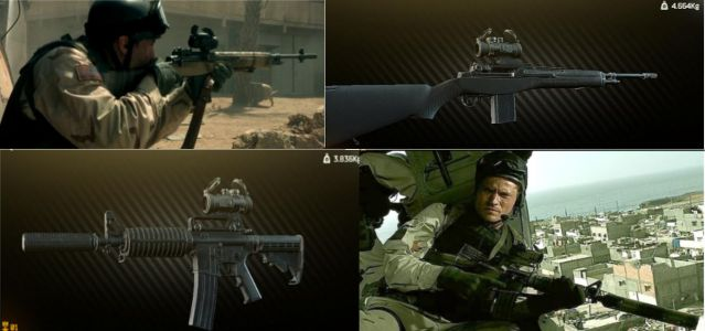 Why did Gordon and Shughart use red dot sights, when sniping from a helicopter?