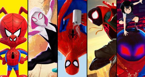 Into the Spider-Verse Posters Introduce Spider-Man's Crazy