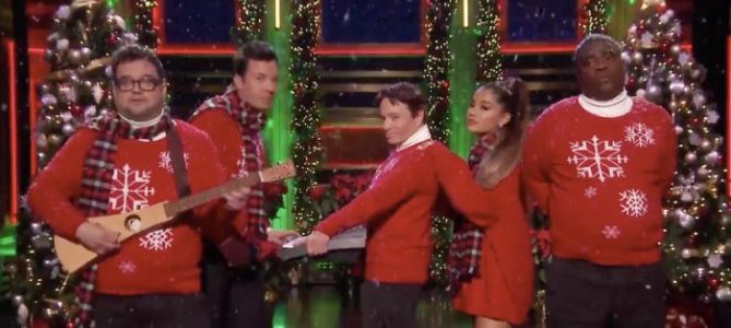 VOTD: Jimmy Fallon Wishes It Was Christmas Today Again with an 'SNL' Holiday Reunion