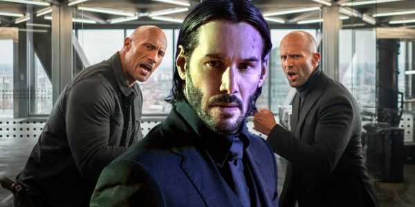 Keanu Reeves is NOT in Hobbs & Shaw But The Rock is Talking to Him