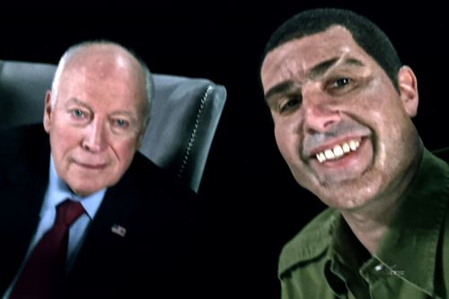 "Sacha Baron Cohen Thanks ""Co-Stars"" Dick Cheney, Sarah Palin for 'Who is America?' Emmy Nomination"