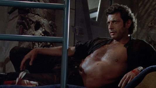 Bare Chested Ian Malcolm is the Limited Edition Collectible We Needed