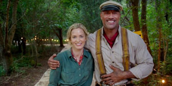 Jungle Cruise Wraps Production With Dwayne Johnson & Emily Blunt Video