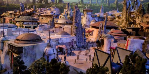 Star Wars: New Disney Hotel Concept Art Reveals Shuttle Pod Transportation