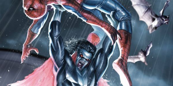 Morbius Movie Set Photo Hints At Marvel Comics Easter Egg