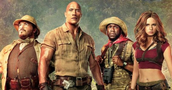 Jumanji Wins 3rd Week in a Row at the Box Office