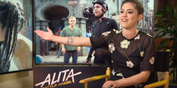 Rosa Salazar Interview - Alita: Battle Angel