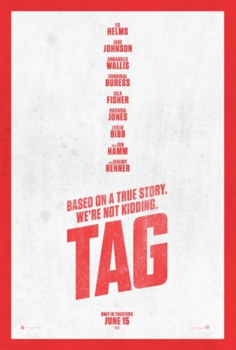Ed Helms, Jon Hamm, Jeremy Renner and Isla Fisher deliver summer fun in comedy romp 'Tag'