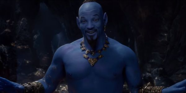 Disney Backs Up Will Smith's Genie After Aladdin Look Goes Viral