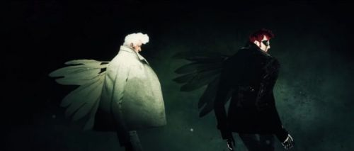 The 'Good Omens' Opening Credits Are Divinely Cool - Watch Them Now