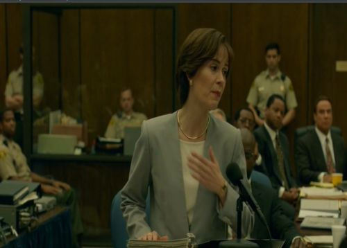 Glass box in American Crime Story