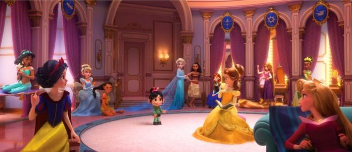 How the Hilarious 'Ralph Breaks the Internet' Disney Princess Scene Came to Be