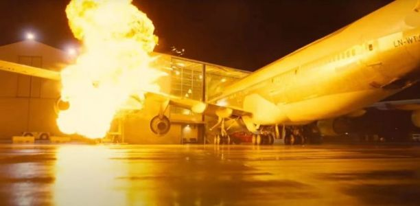 Christopher Nolan Crashed a Real 747 Airplane for a 'Tenet' Action Scene
