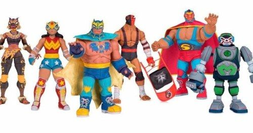DC Superheroes Go Full Luchador in New Lucha Explosiva Toy