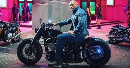 The Rock Wraps One Final Touch on Hobbs & ShawAfter wrapping